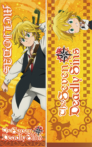 The Seven Deadly Sins - Meliodas Body Pillow, an officially licensed product in our The Seven Deadly Sins Pillows department.
