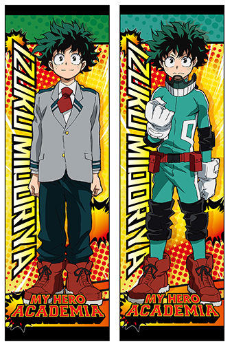 My Hero Academia - Midoriya Body Pillow officially licensed My Hero Academia Pillows product at B.A. Toys.