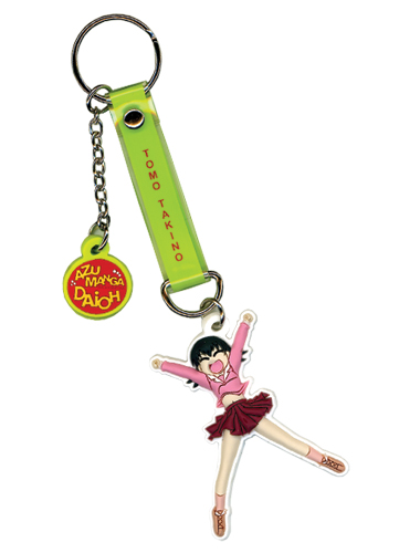 Azumanga Daioh Tomo Pvc Keychain, an officially licensed Azumanga Key Chain