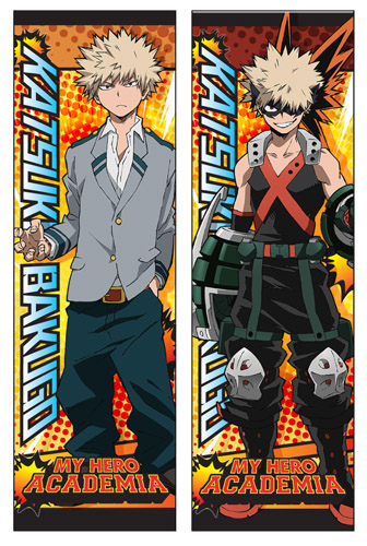 My Hero Academia - Bakugo Body Pillow officially licensed My Hero Academia Pillows product at B.A. Toys.