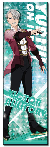 Yuri!!! On Ice - Victor Body Pillow officially licensed Yuri!!! On Ice Pillows product at B.A. Toys.