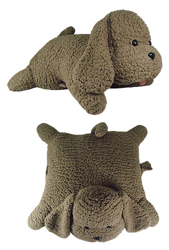 Yuri On Ice!!! - Makkachin Folding Plush Pillow officially licensed Yuri!!! On Ice Pillows product at B.A. Toys.