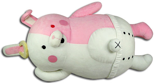 Danganronpa - Monomi Lying Pillow 20, an officially licensed Danganronpa product at B.A. Toys.