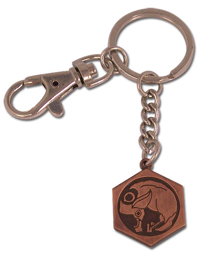 Tsubasa Birdcage Kingdom Emblem Metal Keychain, an officially licensed product in our Tsubasa Key Chains department.