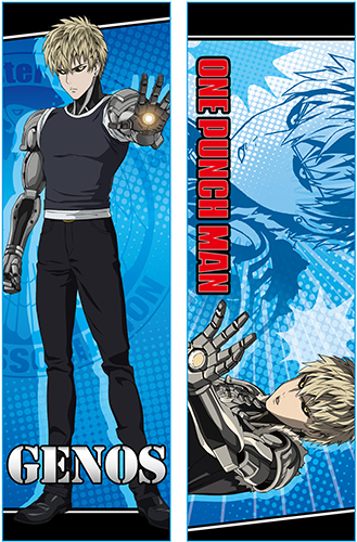 One Punch Man - Genos Body Pillow officially licensed One-Punch Man Pillows product at B.A. Toys.