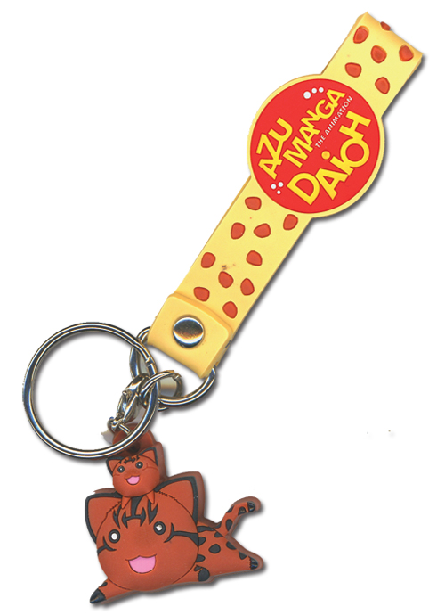 Azumanga Daioh Wild Kitty Pvc Keychain, an officially licensed Azumanga product at B.A. Toys.