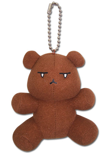 Ouran High School Host Club Bear Plush Keychain, an officially licensed product in our Ouran High School Host Club Key Chains department.