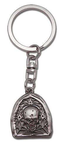 Death Note Skull Metal Keychain, an officially licensed Death Note Key Chain