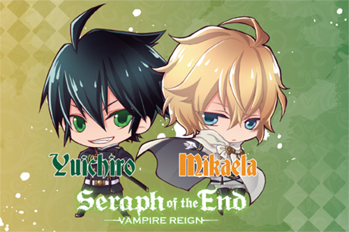 Seraph Of The End - Group Pillow Case officially licensed Seraph Of The End Pillows product at B.A. Toys.