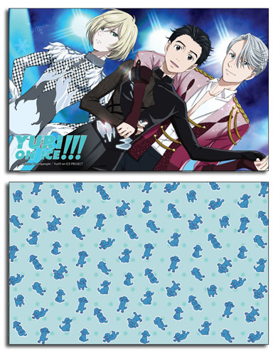 Yuri!!! On Ice - Group Pillow Case officially licensed Yuri!!! On Ice Pillows product at B.A. Toys.