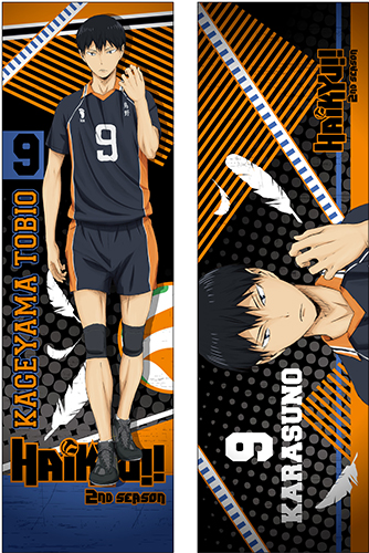 Haikyu!! - Kageyama Body Pillow Case officially licensed Haikyu!! Pillows product at B.A. Toys.