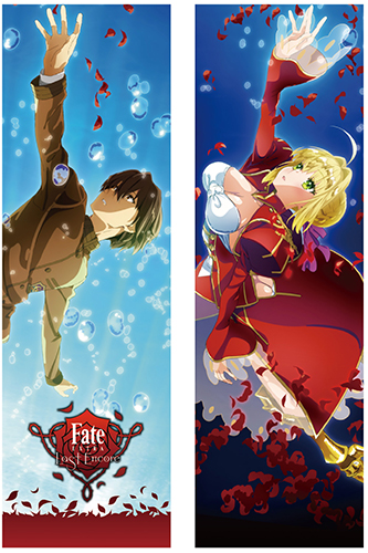 Fate/Extra Last Encore - Saber & Hakuno Body Pillow Case officially licensed Fate/Zero Pillows product at B.A. Toys.