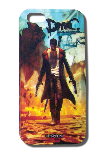 Devil May Cry Dante Explosion Iphone 5 Case, an officially licensed Devil May Cry Cell Phone Accessory