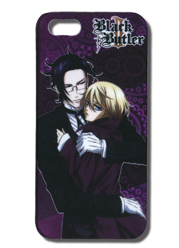 Black Butler 2 Claude & Alois Iphone 5 Case, an officially licensed Black Butler product at B.A. Toys.