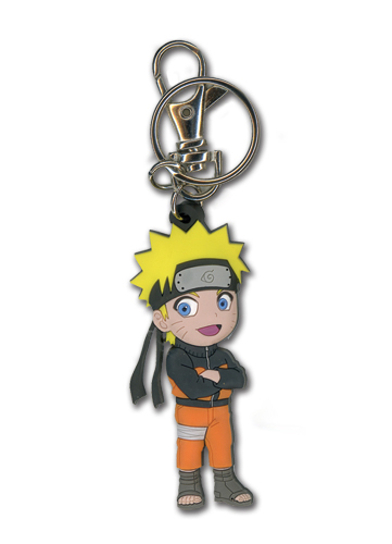 Naruto Shippuden Sd Naruto Pvc Keychain, an officially licensed product in our Naruto Shippuden Key Chains department.