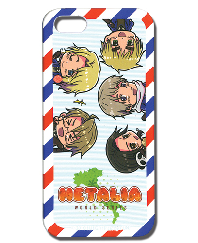 Hetalia World Series Air Mail Iphone 5 Case, an officially licensed Hetalia Cell Phone Accessory