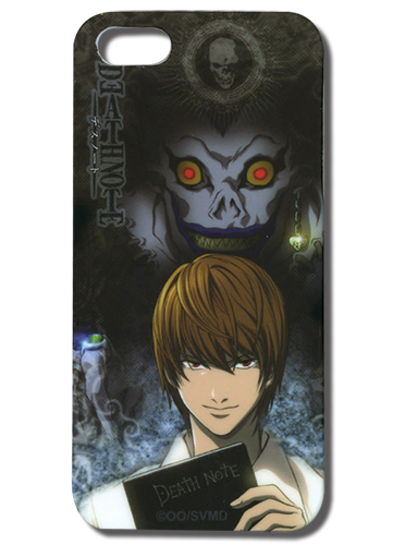Death Note Kira & Ryuk Iphone 5 Case, an officially licensed product in our Death Note Costumes & Accessories department.