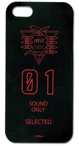 Evangelion New Movie Zeele Sound Only Iphone 5 Case, an officially licensed Evangelion Cell Phone Accessory