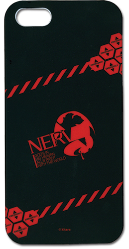 Evangelion New Movie Nerv Logo Iphone 5 Case, an officially licensed product in our Evangelion Costumes & Accessories department.