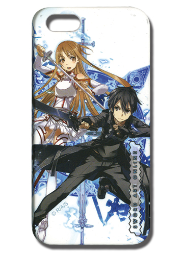 Sword Art Online Asuna & Kirito Iphone 5 Case officially licensed product at B.A. Toys.