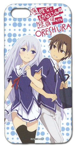 Oreshura Masuzu & Eita Iphone 5 Case, an officially licensed product in our Oreshura Costumes & Accessories department.
