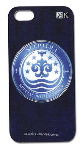 K Scepter 4 Iphone 5 Case officially licensed product at B.A. Toys.