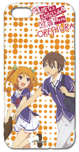 Oreshura Eita & Chiwa Iphone 5 Case, an officially licensed Oreshura Cell Phone Accessory