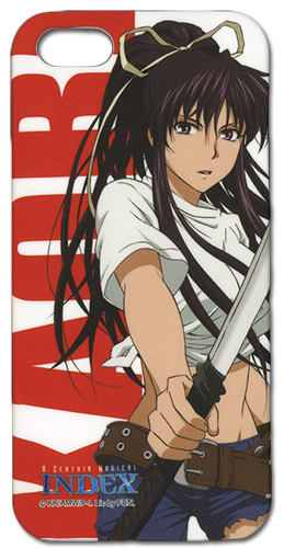 A Certain Magical Index Kanzaki Kaori Iphone 5 Case, an officially licensed A Certain Magical Index Cell Phone Accessory