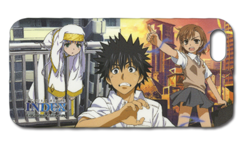 A Certain Magical Index Index Iphone 5 Case, an officially licensed A Certain Magical Index Cell Phone Accessory