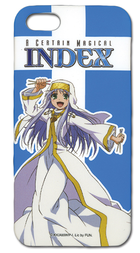 A Certain Magical Index Index Iphone 5 Case, an officially licensed A Certain Magical Index product at B.A. Toys.