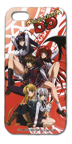 High School Dxd Group Iphone 5 Case, an officially licensed product in our High School Dxd Costumes & Accessories department.