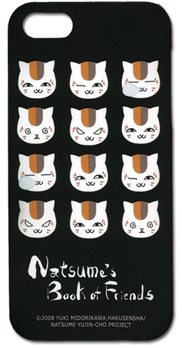 Natsume Book Of Friends - Nyanko Iphone 5 Case, an officially licensed product in our Natsume'S Book Of Friends Costumes & Accessories department.