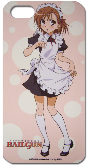 A Certain Scientific Railgun Misaka Maid Cosplay Iphone 5 Case, an officially licensed product in our A Certain Scientific Railgun Costumes & Accessories department.