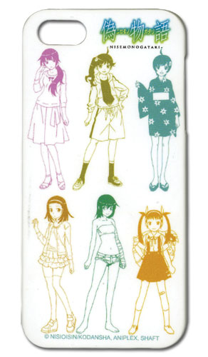 Nisemonogatari - Girls Iphone 5 Case, an officially licensed product in our Nisemongatari Costumes & Accessories department.