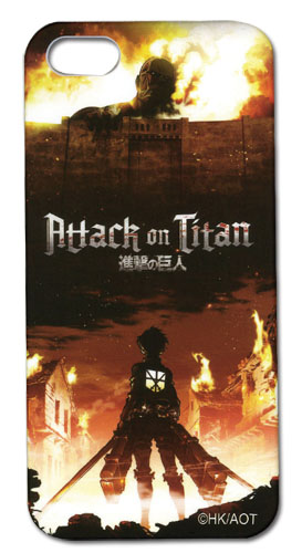Attack On Titan - Key Art Iphone 5 Case officially licensed product at B.A. Toys.