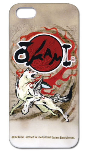 Okami - Amaterasu Iphone 5 Case, an officially licensed product in our Okamiden Costumes & Accessories department.