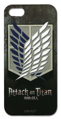 Attack On Titan - Scout Regiment Iphone 5 Case, an officially licensed product in our Attack On Titan Costumes & Accessories department.
