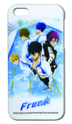 Free! - Key Art Iphone 5 Case, an officially licensed product in our Free! Costumes & Accessories department.