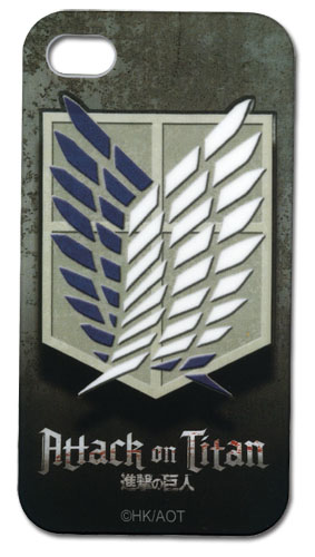 Attack On Titan - Scout Regiment Iphone 4 Case, an officially licensed product in our Attack On Titan Costumes & Accessories department.