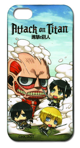Attack On Titan - Sd Fight Iphone 5 Case, an officially licensed product in our Attack On Titan Costumes & Accessories department.