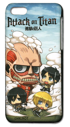Attack On Titan - Sd Fight Iphone 5 Case, an officially licensed Attack On Titan product at B.A. Toys.