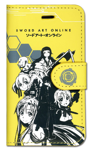 Sword Art Online Group Iphone 5 Case officially licensed product at B.A. Toys.