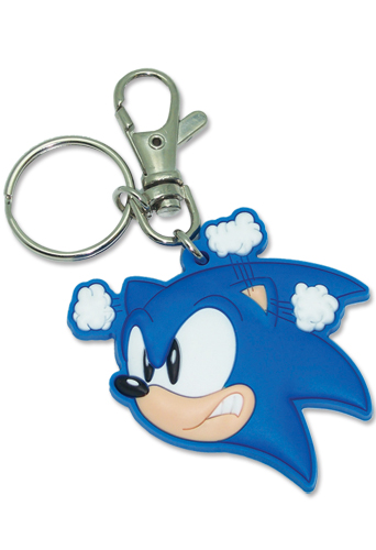 Classic Sonic Pvc Keychain, an officially licensed Sonic Key Chain