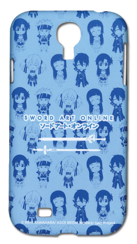 Sword Art Online Sd Samsung S4 Phone Case officially licensed product at B.A. Toys.
