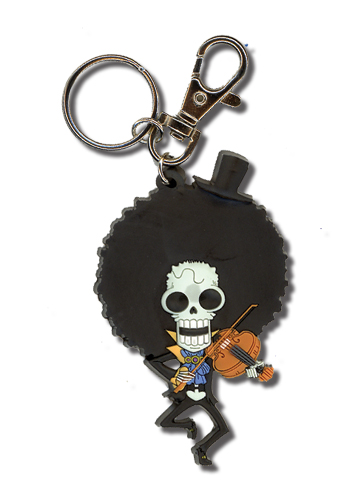 One Piece Sd Brooke Pvc Keychain, an officially licensed product in our One Piece Key Chains department.