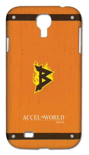 Accell World Brain Burst Icon Samsung Galaxy S4 Phone Case officially licensed Accel World Costumes & Accessories product at B.A. Toys.