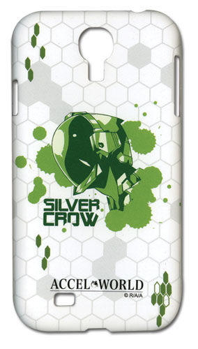 Accel World Silver Crow Samsung S4 Phone Case, an officially licensed Accel World Cell Phone Accessory