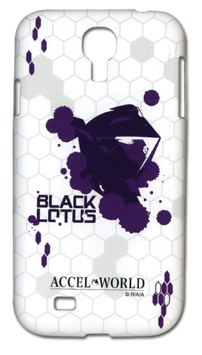 Accel World - Black Lotus Samsung Galaxy S4 Phone Case officially licensed Accel World Costumes & Accessories product at B.A. Toys.