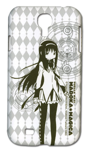 Madoka Magica Homura Samsung S4 Phone Case officially licensed Madoka Magica Costumes & Accessories product at B.A. Toys.