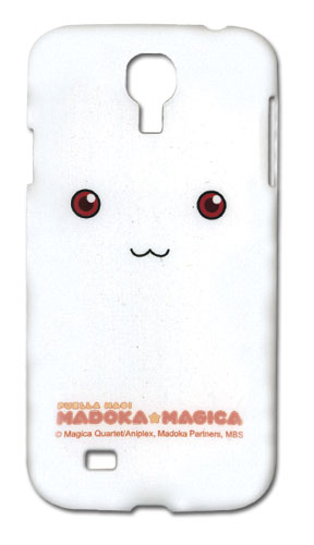 Madoka Magica - Kyubey Samsung S4 Case officially licensed Madoka Magica Costumes & Accessories product at B.A. Toys.